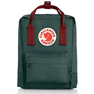 Fjallraven - Kanken Mini Classic Backpack for Everyday, Forest Green/Ox Red (B003U44FZY) | Amazon price tracker / tracking, Amazon price history charts, Amazon price watches, Amazon price drop alerts