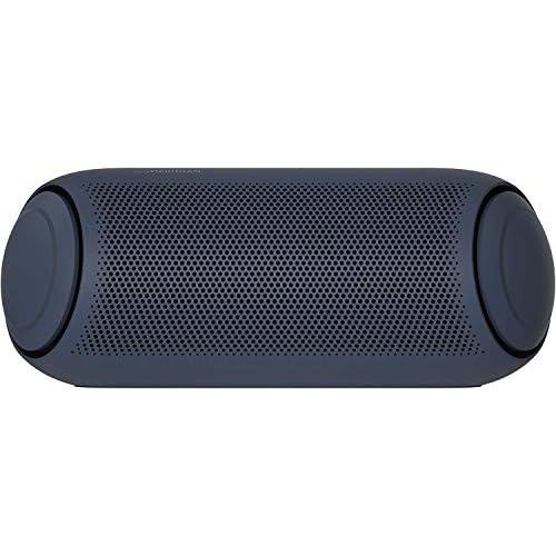 chollos oferta descuentos barato LG XBOOM Go PL7 Altavoz Bluetooth de 30W de Potencia con Sonido Meridian autonomía 24 Horas Bluetooth 5 0 protección IPX5 iluminación LED USB C comandos de Voz Google y Siri Dual Action Bass