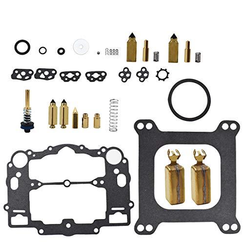 (New Carburetor Repair Kit for Weber Marine W-4 BBL Mercruiser 809064 with Floats 8M0120193)
