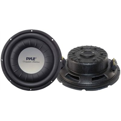 "Pyle 10"" 1000 Watt Ultra Slim DVC Subwoofer"