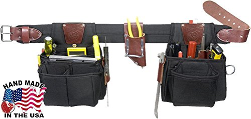 Occidental Leather 9525XL The Finisher Set X-Large Belt with 25 - Old Furniture Hickory Leather