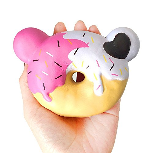 roadwi Slow Rising Squishies Soft Durable Scented Squishy Decompression Toys Squeezable Educational Decorative Squish Collection Donuts