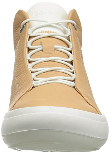 Beige ECCO Kinhin Hi Trainers Top White Volluto 50708 Women's RRwqa