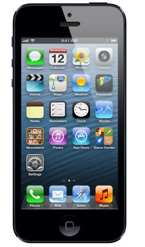 Apple iPhone Unlocked Smartphone Black