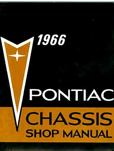 1966 Pontiac Shop Manual Bonneville Catalina Grand Prix Executive Safari