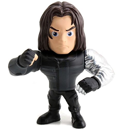 Metals Marvel 4 inch Movie Figure - Winter Soldier (M49)