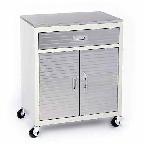 Seville Classics UltraHD One Drawer Cabinet Stainless Steel Top (1, One  Drawer)