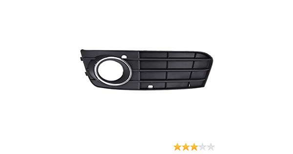 TOOGOO Grille Grill Fog lights Bumper Non-sline Left and Right Grill Black