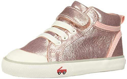 - See Kai Run Girl's Peyton Sneaker, Rose Shimmer, 12.5 M US Little Kid