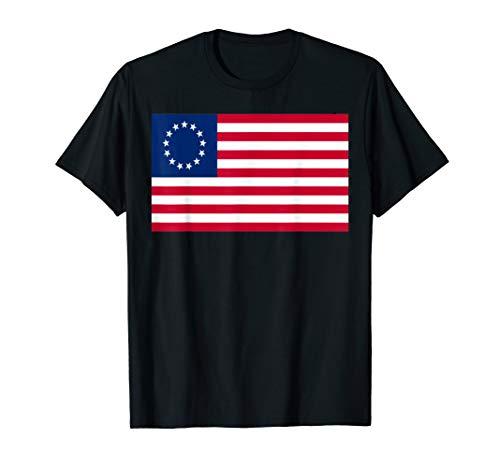 Betsy Ross Old Glory American USA Flag T-Shirt T-Shirt
