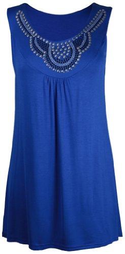 Purple Hanger - T-shirt - Femme Bleu Bleu marine