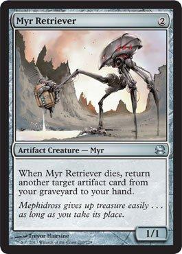 (Magic: the Gathering - Myr Retriever - Modern Masters -)