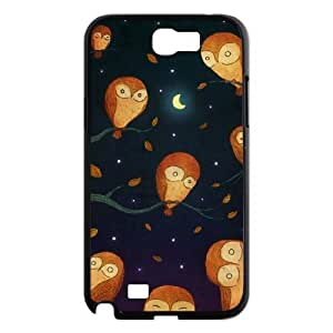 Night owl Personalized Phone Case for Samsung Galaxy Note 2 N7100,custom Night owl Case