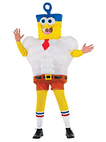 Rubie's Inflatable Adult Sponge Out of Water Costume SpongeBob -