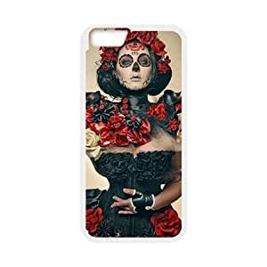 """ANCASE Cover Shell Phone Case Sugar Skull For iPhone 6 Plus (5.5"""")"""