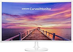 "Samsung LC32F391FWLXZX Monitor Curved 32"", LED, 1920 x 1080, 16:9, 1 HDMI, 60 Hz, Color Blanco"