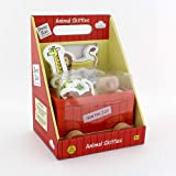 Milly & Flynn Dear Zoo Wooden Skittles And Pull-Along Game