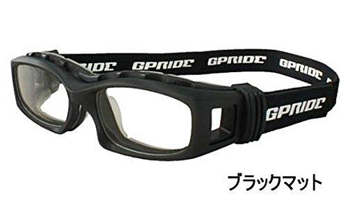 スポーツメガネ キッズ 子供用 ゴーグル アイグローブ GP-94S 超薄型1.67非球面レンズまで選べる度付きレンズセット  ブラックマット B0711YF7Z2