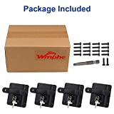 WMPHE Compatible with 4PCS Tie Down Anchors Ford