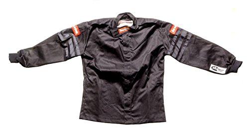 RaceQuip Unisex-Child Jacket Single Layer(Black,Medium),1 Pack