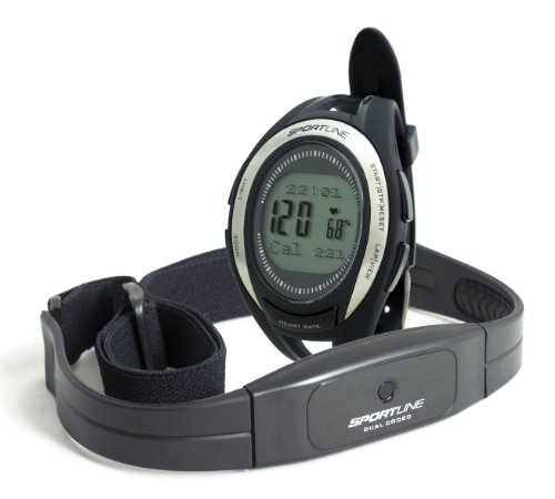 Sportline 670 Cardio Connect Women's Heart Rate Monitor With Speed And Distance - Watch Swiss Jewel