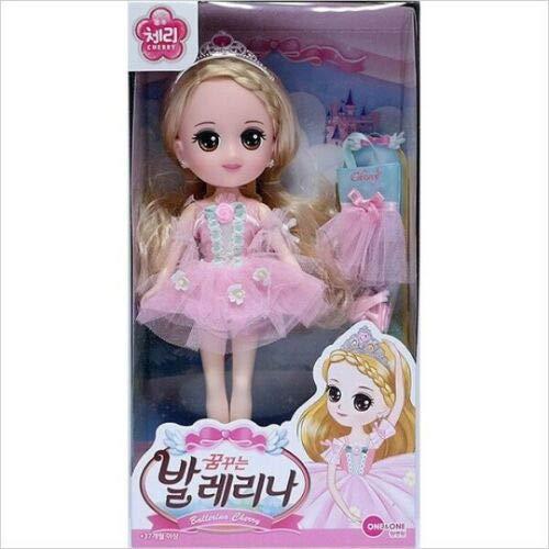 One & One Cherry Ballerina Cherry Toy