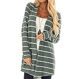 LisYOU Womens Classic Stripe Quilted Jacket Short Bomber Jacket Coat