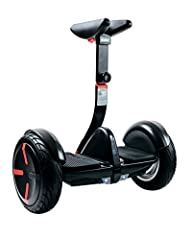 The Segway miniPRO is not a hoverboard - it's the next step in the evolution of personal transportation. The miniPRO is a hands-free, two-wheel electric scooter with safer features, higher speeds, and longer battery life. The miniPRO transpor...