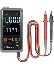 Baugger ST388 Digital Autoranging LCD Multímetro Digital com Audible NCV True RMS 6000 Counts Retroiluminado Testador de Medidor Universal para Capacitância de Tensão AC/DC/Frequência /