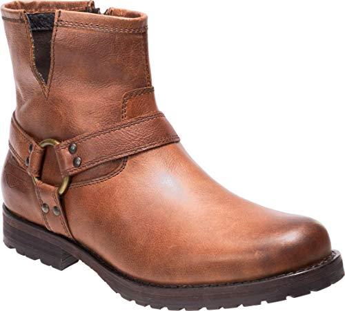 HARLEY-DAVIDSON Men's Mosby Sneaker, Brown, 11.5 M US (Boots Harley Davidson Harness)