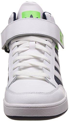 adidas Varial Mid, Zapatillas de Skateboarding para Hombre Blanco (Ftwbla / Versol / Maruni)