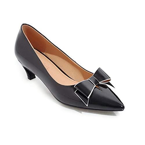 36 EU Noir Sandales Femme Compensées 5 APL10735 Noir BalaMasa UOCqFgx