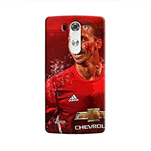 Cover It Up - Ibrahimovic Red LG G3 Hard Case
