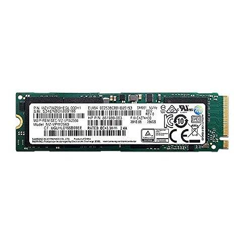 - 41f7k6CFqKL - Samsung SM961 Polaris 256GB M.2-2280 PCI-e 3.0 x 4 NVMe Solid State Drive SSD