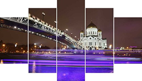 Go Hooked Multiple Frames Reprinted Wall Décor - 5 Frames