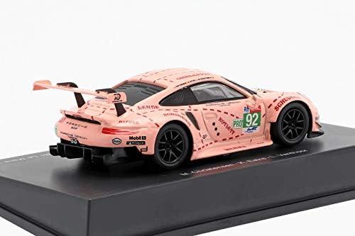 1/64 Porsche 911 RSR No.92 Porsche GT Team Winner LMGTE Pro class 24H Le Mans 2018