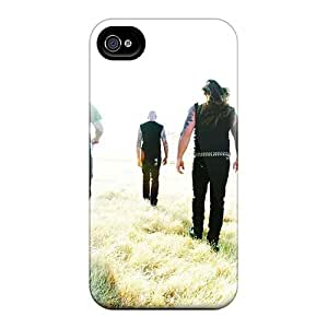 Best Cell-phone Hard Covers For Iphone 4/4s (QdR13272SGpz) Allow Personal Design Nice Machine Head Band Series