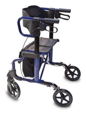 Lumex Lightweight Hybrid Rollator Transport Chair