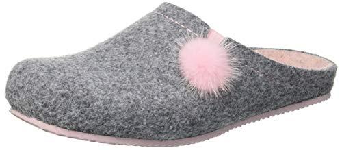Gris GRUNLAND Piscina Zapatos de Mujer para cipria Playa y Euro Cenere Cncp 4wqgxA48T