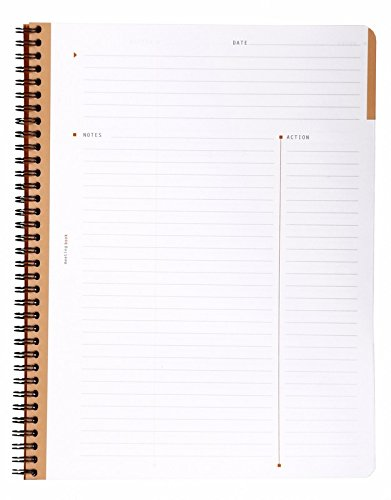 Rhodia Meeting Books 8 1/4 in. x 11 3/4 in. black 80 sheets