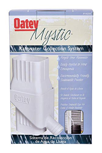 (Oatey Mystic Rainwater Collection System Fits 2
