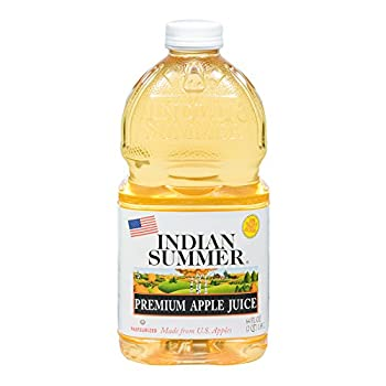 Indian Summer 100% Apple Juice, 64 Fluid Ounce (Pack of 8)