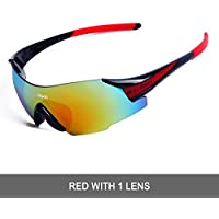 WOLFBIKE POLARIZE Sports Cycling Sunglasses for Men Women...