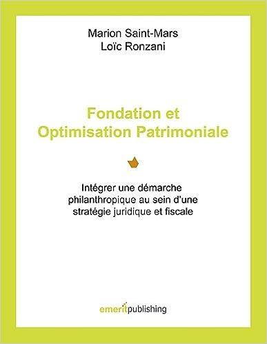 Téléchargement Fondation et Optimisation Patrimoniale pdf, epub ebook