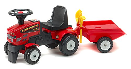 FALK RED TRACTOR & TRAILER