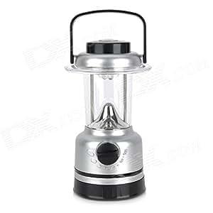 LED farol de camping, funciona con pilas luz de emergencia con brújula por pk verde