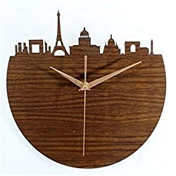 MGE UPS Systems Clock Wall Clock,Holly Wall Clock 3D Maein in French Paris