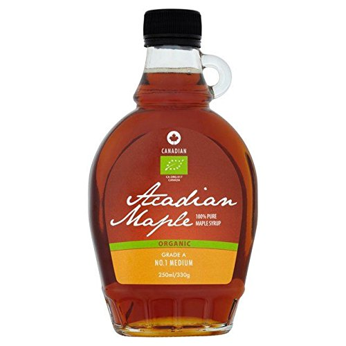 Acadian Maple Organic Maple Syrup Medium - 250ml (8.45fl oz)