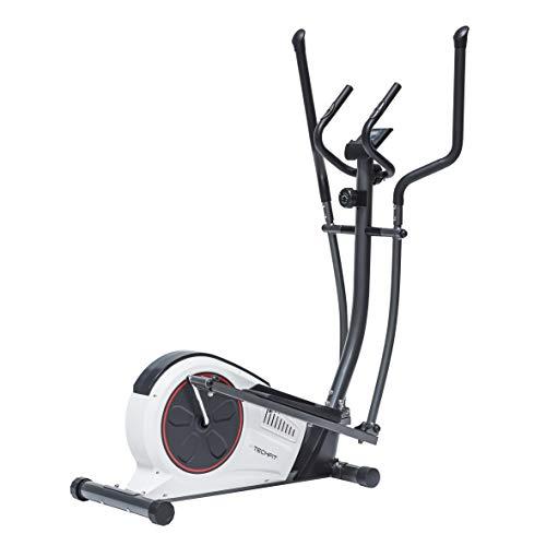 TechFit E450 Cross Trainer, Bicicleta Elíptica para el hogar, Máquina de Cardio para Ejercicios de Fitness, Dispositivo de Resistencia magnética Apta para ...