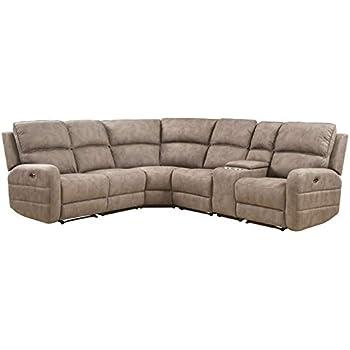 Amazon Com Furniture Of America Fa Cm6773mc Sectional